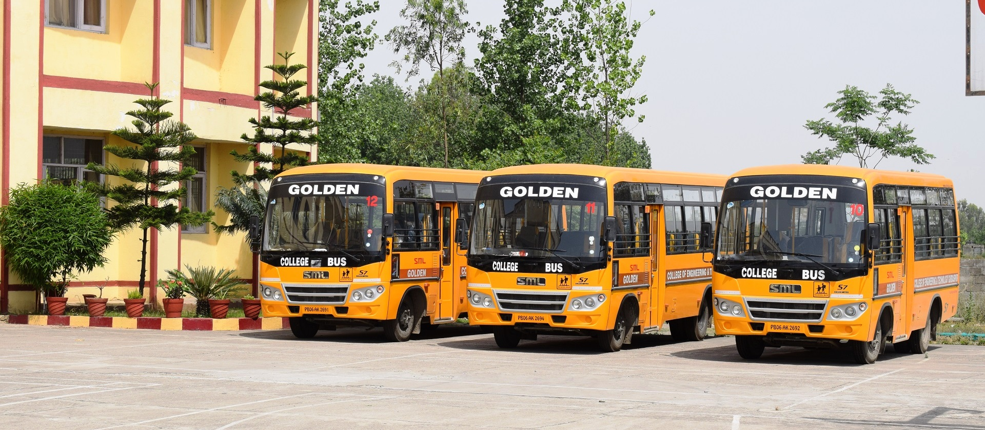 Transport Facility in Golden College